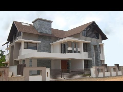 Cute Modern Colonial Style Double Floor House 1300 Sft For