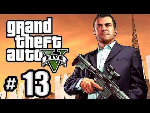 Grand Theft Auto 5 Gameplay Walkthrough Part 13