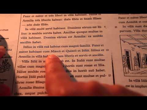 First ASMR Video: Reading Some Latin