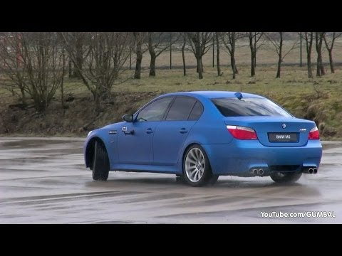 DRIFT Fun in a BMW E60 M5 w/ Eisenmann Race Exhaust!