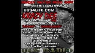 Krazy Dee Interview Unreleased NWA and Eazy-E tracks and much more