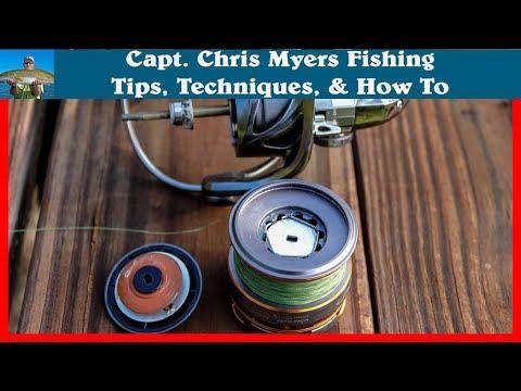 Spinning Reel Drag Maintenance