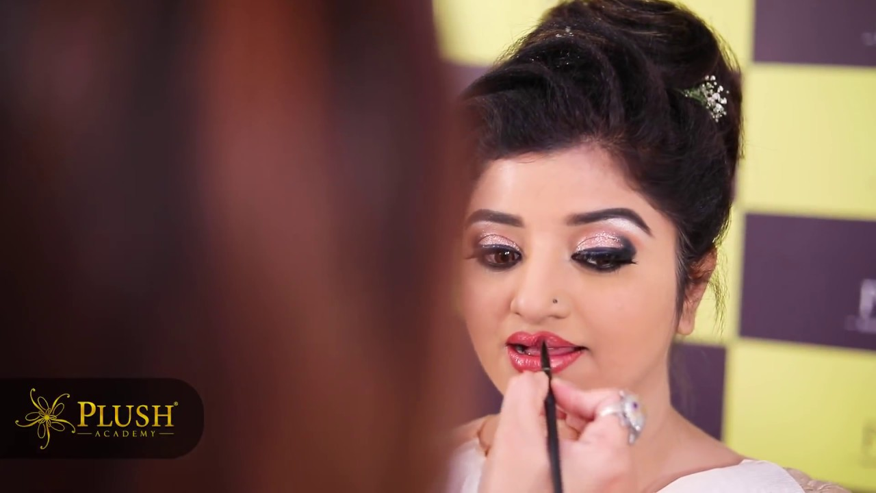 ACTRESS Mahalakshmi AIRBRUSH Makeup by Santhoshi Srikar @PLUSH 9940540888