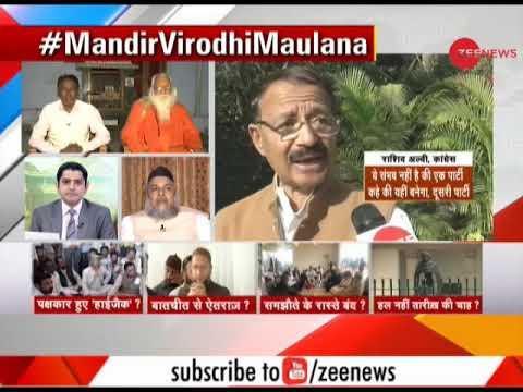 Taal Thok Ke: Do Maulana's want an uproar in Ram Mandir-Babri Masjid row?