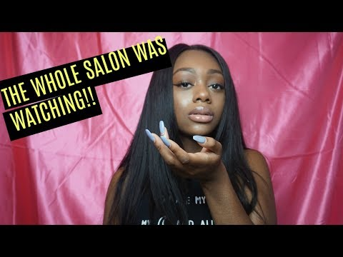 STORYTIME: NAIL LADY HAD ME MESSED UP!!