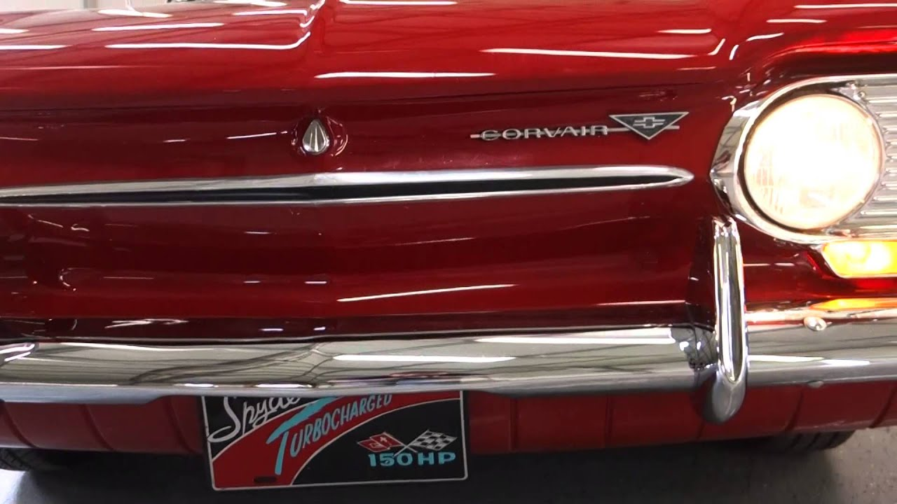 1963 Chevrolet Corvair Spyder Turbocharged Classic Convertible