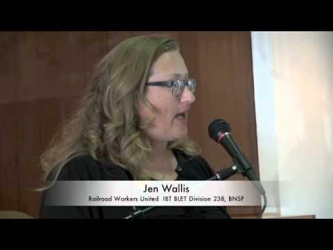 BNSF Railroad Worker Jen Wallis On Health And Safety, Rail Labor, One Man Crews & Warren Buffet