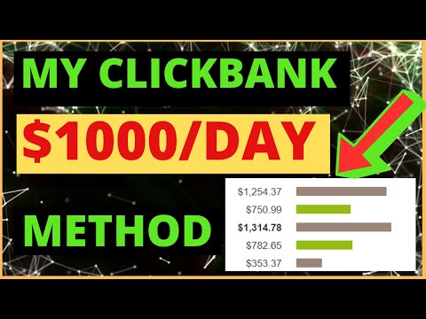 My Clickbank $1000 Per Day Tutorial: Fastest Way to Make Sales Fast On Clickbank in 2020