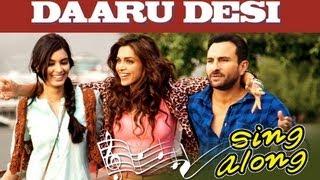 Daaru Desi (Karaoke) | Cocktail | Saif Ai Khan, Deepika Padukone & Diana Penty