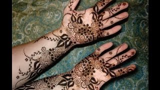 Best Arabic Henna Mehendi Design For Eid Teej Karwa Chauth Indian