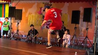 Don't stop funk vol.1 Hualien_2012_B-Boy Grigori Top Rock+Judge solo