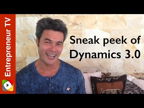 Sneak peek of Dynamics 3.0