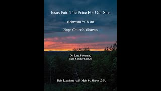 Jesus Paid The Price For Our Sins - with Francis Balla