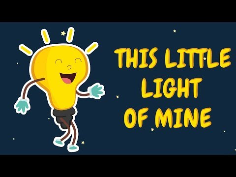 This Little Light Of Mine   Nursery Rhymes And Kids Songs  