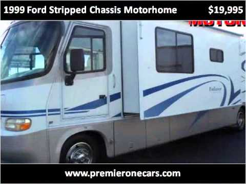 1999 Ford Stripped Chassis Motorhome Used Cars Pasco