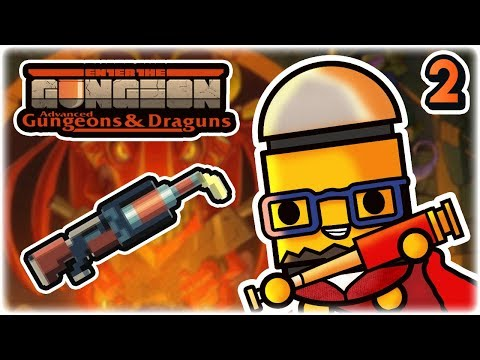 Molotov Launcher Synergy | Part 2 | Let's Play: Enter the Gungeon Advanced Gungeons and Draguns | PC