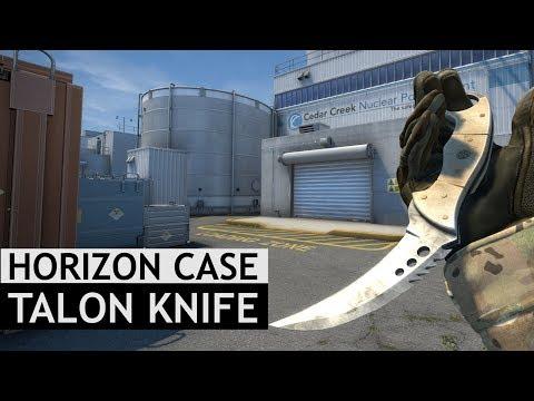 Talon Knife Animations   Horizon Case Update   CS:GO