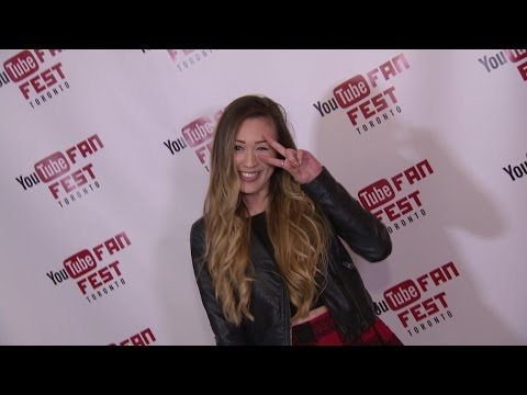 YouTube FanFest: LaurDIY (Lauren Riihimaki)