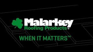 Engineered for Performance - Malarkey Shingles 2020 video thumbnail