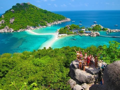 LBW TRAVEL THAILAND SERIES EP: 10 || Koh Tao - Scuba, Cliff Jumps & Lady Boys