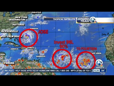 Hurricane Jose update 9/15/17 - 6pm report