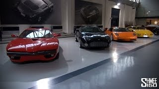 V12 Zagato, Carrera GTZ, DB7 Zag - Zagato Showroom Tour