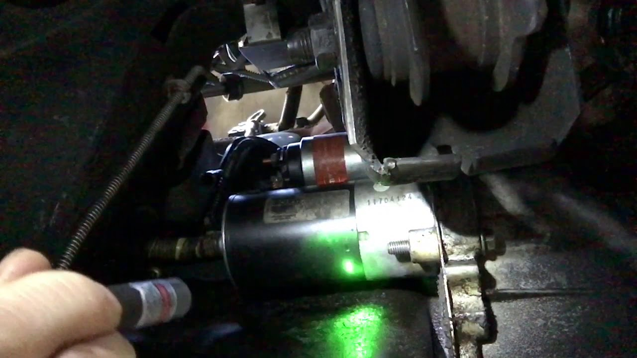 2002 Ford Ranger Starter Motor Replacement Youtube Wiring Selonid