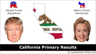 California Primary Result 2016 : US Election 2016