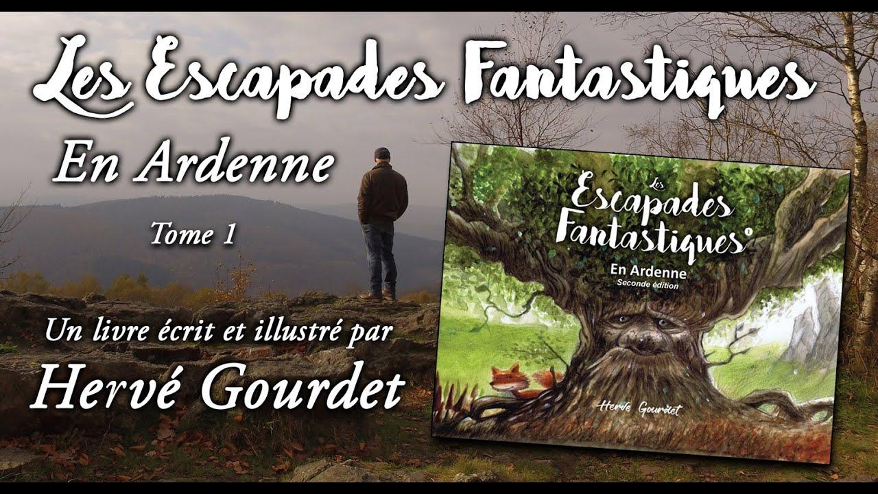 Teaser Escapades fantastiques Tome 1 - l'Ardenne