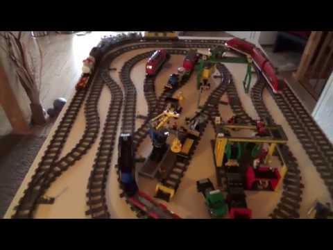 Lego City Eisenbahn 7938 7939 60052 60098 Youtube