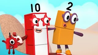 Numberblocks - Discovering New Numbers! | Learn to Count | Learning Blocks
