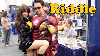 Riddle (Evil Mary Marvel) Interview: Comic-Con 2014