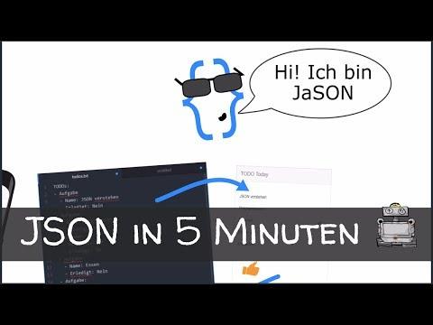 JSON in 5 Minuten - Was ist JSON? So lernst Du es schnell & einfach