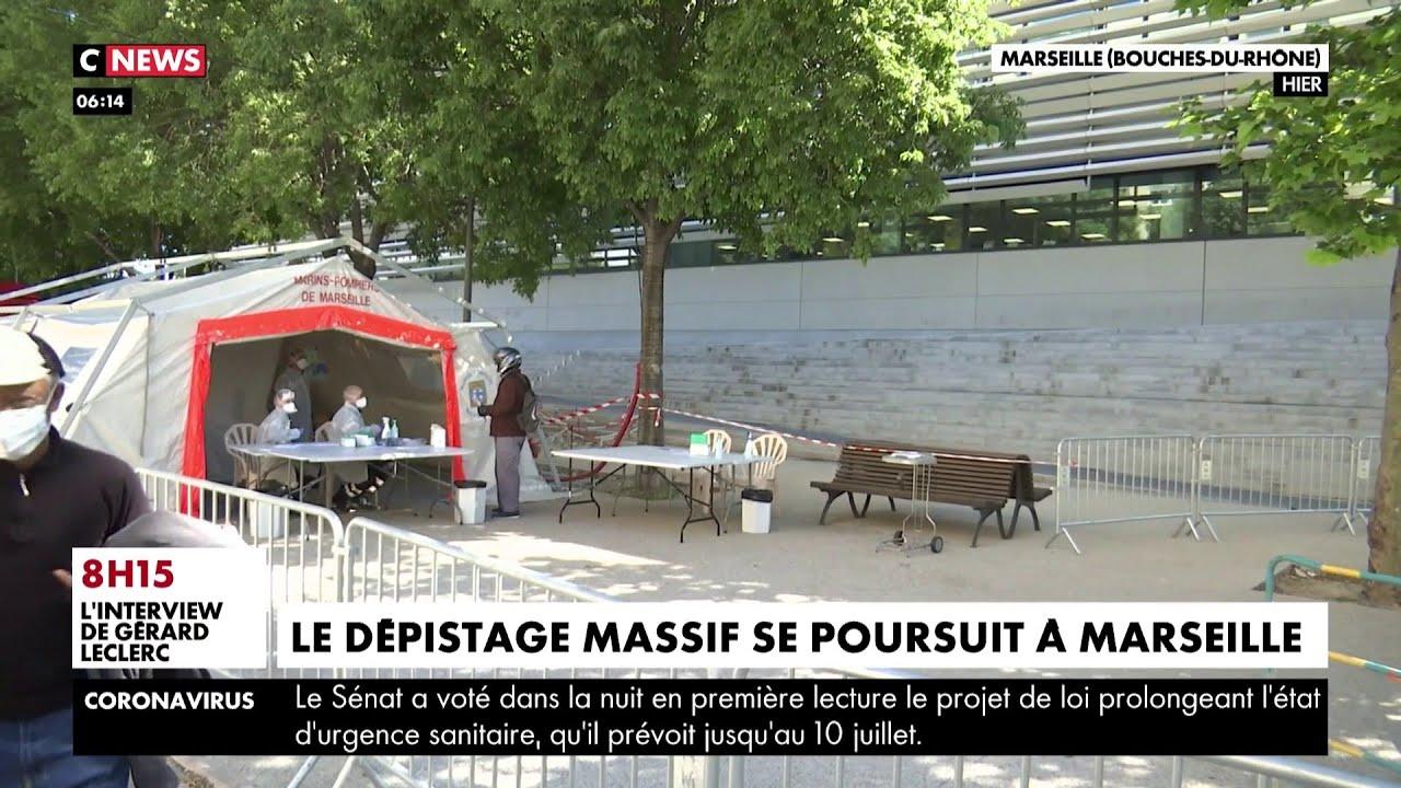 Coronavirus : le dépistage massif se poursuit à Marseille