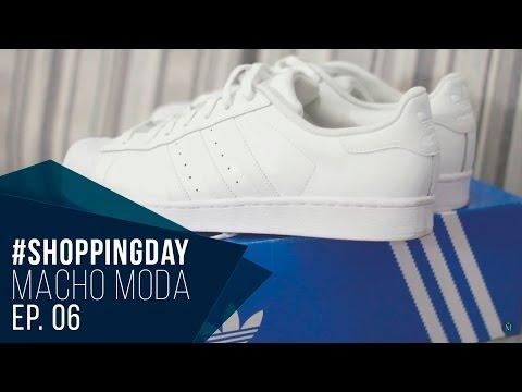 #ShoppingDayMM 06 - Moletom Longline, Jaqueta Bomber Estampada, Coat Longo e Adidas Superstar
