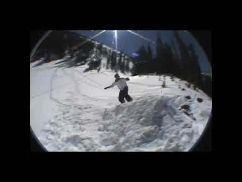 Ice Pick snowboarding