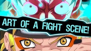 How Naruto and One Piece Speak Differently Through Battle - The Art of a Fight Scene