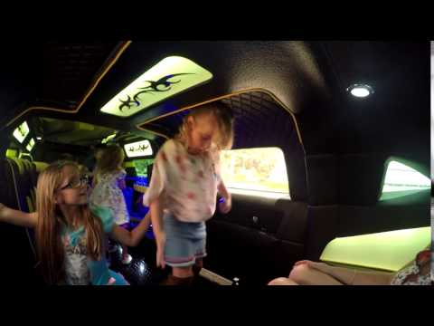 Abigails 7th Birthday Party In A Limo