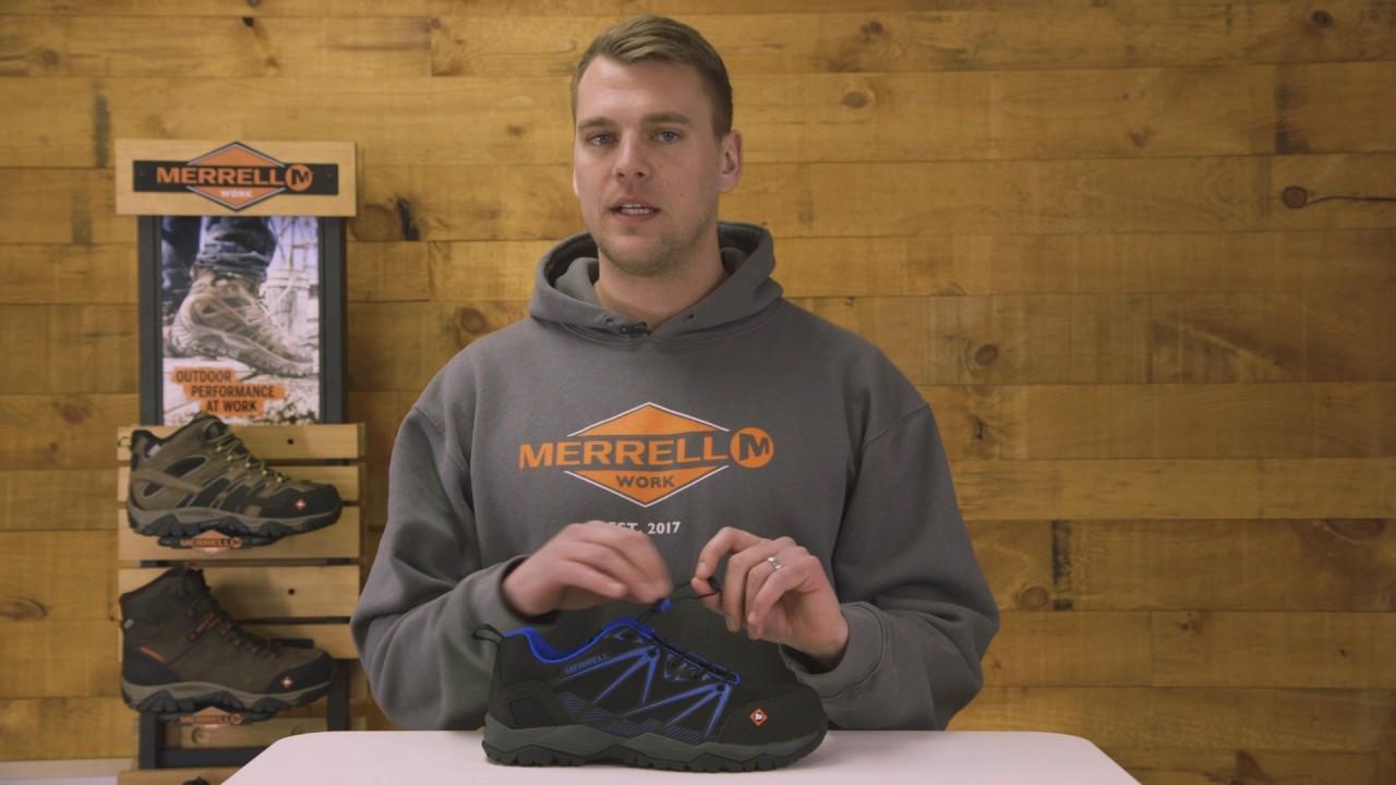 Merrell Work Fullbench Composite Toe Work Shoe