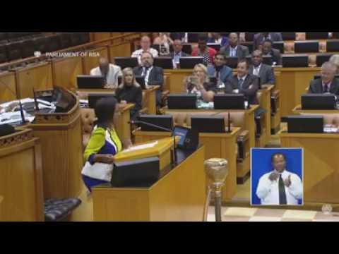 South Africa s youngest Member of Parliament ' 24 year old