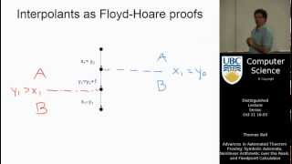 Thomas Ball -  Advances in Automated Theorem Proving