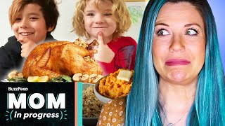 I Let My Kids Cook Thanksgiving Dinner • Mom In Progress