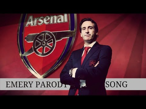 Unai Emery New Arsenal Manager Funny Parody Song [Jim Daly]