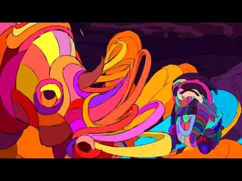 Santana - Sideways Ft. Citizen Cope (Trippy Animation)