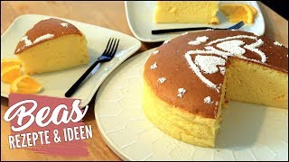 Japanischer Käsekuchen Rezept ツ Perfect Soufflé Cotton Cheesecake backen