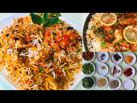 Chicken Sindhi biryani, Бириани с курицей