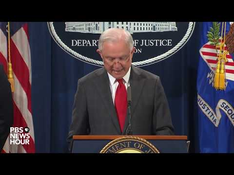 WATCH: The U.S. Department of Justice provides an update on the package bomb investigation