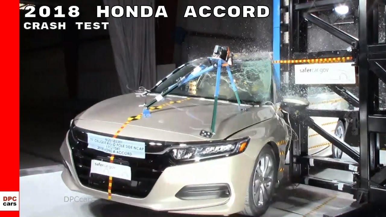 2018 Honda Accord Crash Test