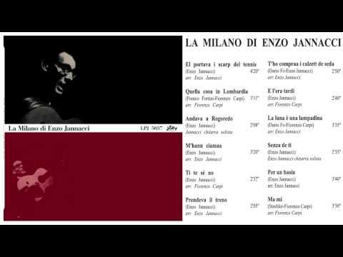 LPJ 5037 - La Milano di Enzo Jannacci - 1964