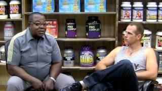 How Leroy Colbert Built 21 inch Biceps Drug Free #1